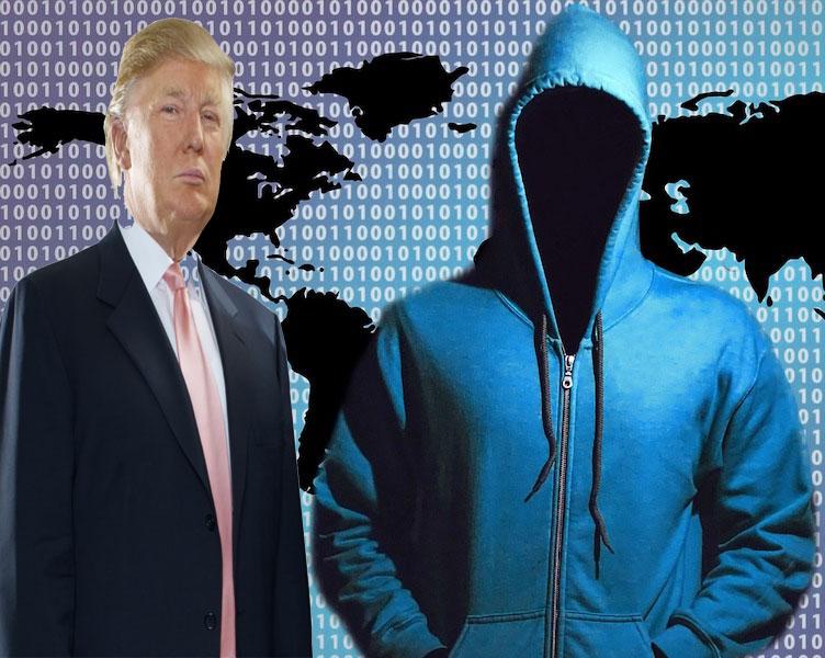 مشکل هکرها برای ترامپ